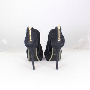 AERIN Shoes - AERIN #7033 Black Suede Booties